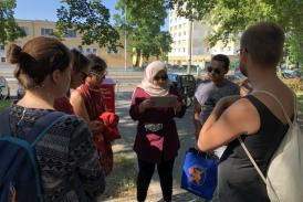 Digitale Gruppenaufgabe in Potsdam